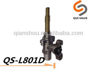 brass gas valve aluminum valve for oven/stove