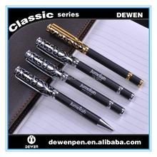 promotion logo print metal roller ball pen corporate ballpoint pen gift set