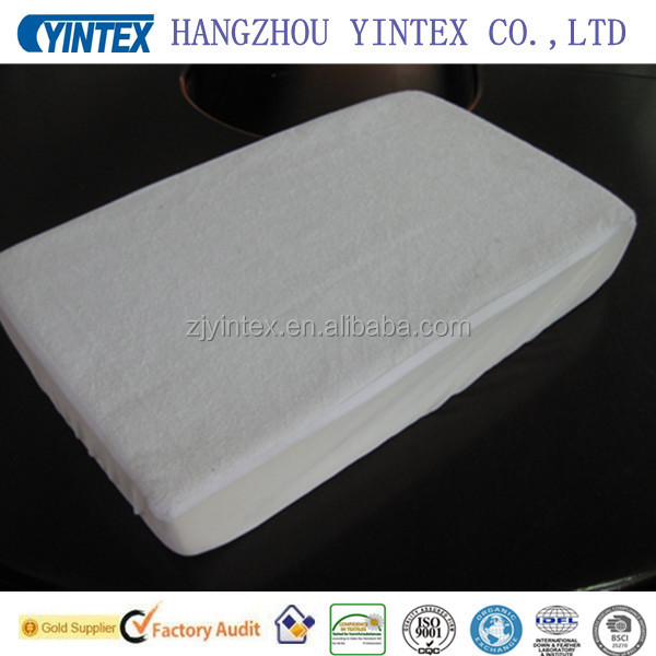 Amazon hot selling waterproof terry mattress protector