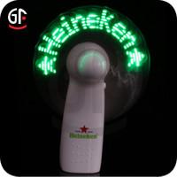Best Quality Light up Message Popular Cheap Hand Fan