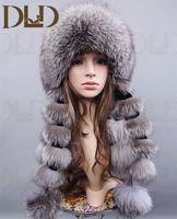 Rex Rabbit Fur Ear Muffs / Rose Flower Shape Fur Earmuff