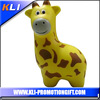 funny stress relief toy pu foam anti stress giraffe shaped