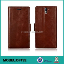 2015 Newest design phone case ! Wallet stand leather case for OnePlus Two