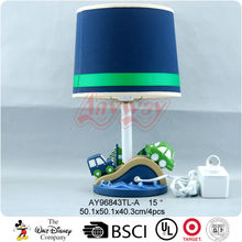 Polyresin modern cars and boats cartoon children study lamp
