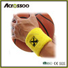 promotional sport cotton tennis sweatband ,custom sweatband wristband