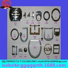make metal mini alphabet rock carbon fiber zinc alloy adjustable jackass belt buckle