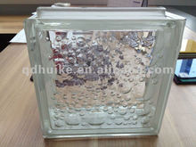 190*190*80mm clear glass blocks for decorative wall