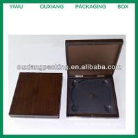 Fancy Square Wooden CD DVD Box