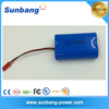 high quanlity rechargeable li ion battery 18650 7.4v 2000mah li-ion battery 7.4v with reasonable price