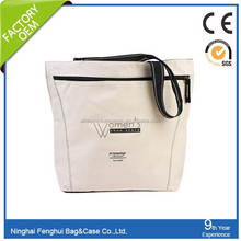 Alibaba China durable large personalized unique cotton shopper bag