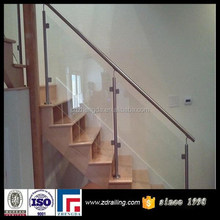 manufacturer stair glass railing prices, stainless steel stair railing
