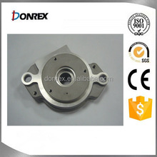 Zinc plated casting round plate with CNC milling