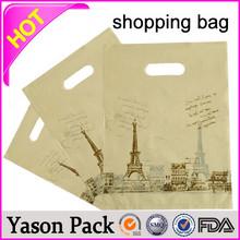Yasonpack die cut shopping bag new york shopping bags expandable shopping bag
