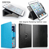For apple ipad air 360 Degree Rotating Stand Case Folio Stand Smart Cover with Auto Wake Up Sleep For ipad mini 2/3/4/5/6