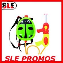2015 plastic cartoon animal design backpack water gun with tank big water gun for wholsale