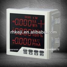 インテリジェントデジタルパネル3相4線式アンプボルト付きメーターキロワット時varhvarcosw