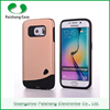 Hybrid dual layer 2 in 1 combo case TPU PC Oil rubber Painted or Matte UV coating case cover for Samsung Galaxy s6 edge