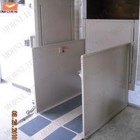 Home wheelchair lift/vertical lift up mechanism for disabled