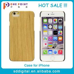 new arrival pc phone case wood case for iphone 6