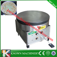 900mm CE approval biggest commercial gas rotating crepe maker /pancake equipment