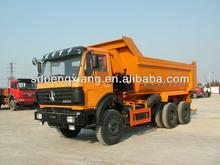 6*4 6.5 m U style hopper GUM tipper truck (Beiben Chassis)