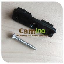 wpc decking black plastic locking clip