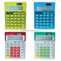 Electronic calculator big display 8 digit, desktop calculator/ HLD-804
