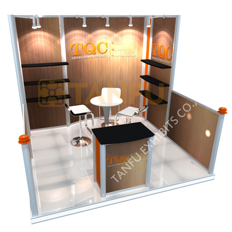 Trade Show Booth With Shelves : Tanfu exhibition booth or with adjustable