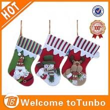 Christmas stocking santa claus snowman deer xmas decoration