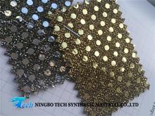 GLITTER PU cuero sintético glitter material hot sale con colores validad