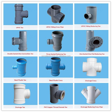Top Standard Food Grade PVC Pipe Fittings 45 Degree Y Branch Tee With Good Price