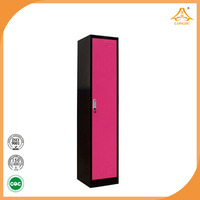 factory direct sell cheap metal one door wardrobes with high quality made in china
