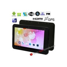 S8 Black, 7.0 inch Capacitive Touch Screen Android 4.0 aPad Style Cheapest Tablet PC With Sim Slot With WIFI, Bluetooth, GPS