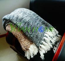 100%polyester fuzzy sofa throws(YH8005)