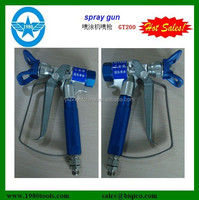 Adjustable heavy duty paint spray gun G230/G220/G210 HS code 84242000 and nozzle tips seat
