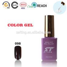 De color uv laca de uñas de pintura esmalte de uñas con 100 colores customed producción