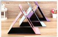 Foldable faux PU leather dining room goods mirrors for home
