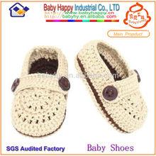 crochet tejer zapatos de bebé