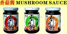 mushroom sauce made of shiitake mushroom