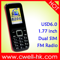 COST D2 China Mobile Phone 1.77 inch QCIF Display Factory Direct Unlocked Cellphones