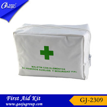 GJ-2309 OEM Manufacture convenient carry bag car road emergency kit first aid kit