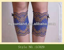 spring Trends Womens Lace Boot Cuff Socks