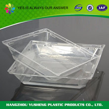 High quality PET plastic airline food trays