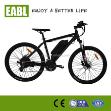 26inch 48V 500W electric mountain bicycle with 21 speed and disc brake