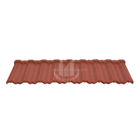 Non-curling Color Galvanized Steel Roof Tile Shingle