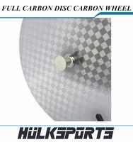 CARBON Disc Wheel -Tubular Clincher (Single Front Wheel); For Fixed Gear; FIX Bike Wheel