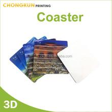 hot promotional lenticular coaster set