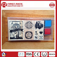 Customized printing rubber stamp