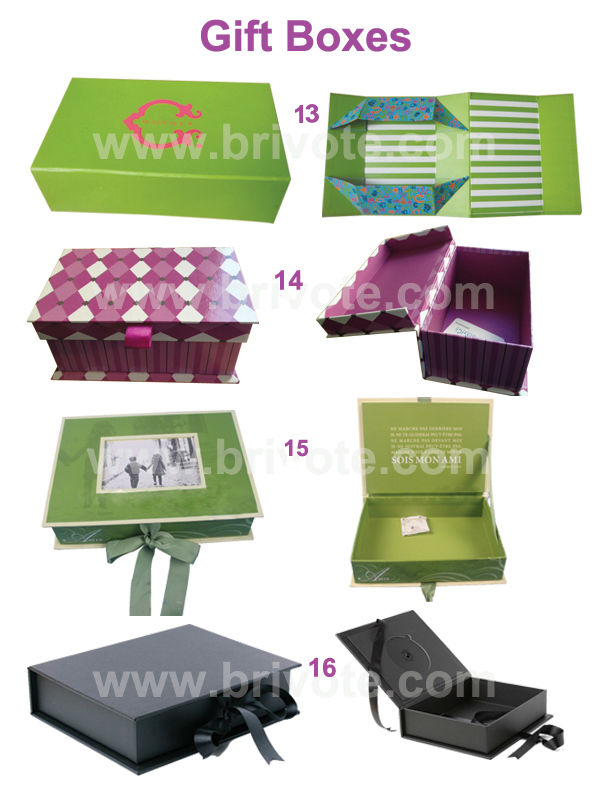 2015 Custom magnet closure gift box high quality paper gift box wholesale