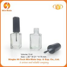 manufacturer heart shaped mini lovely nail polish bottle